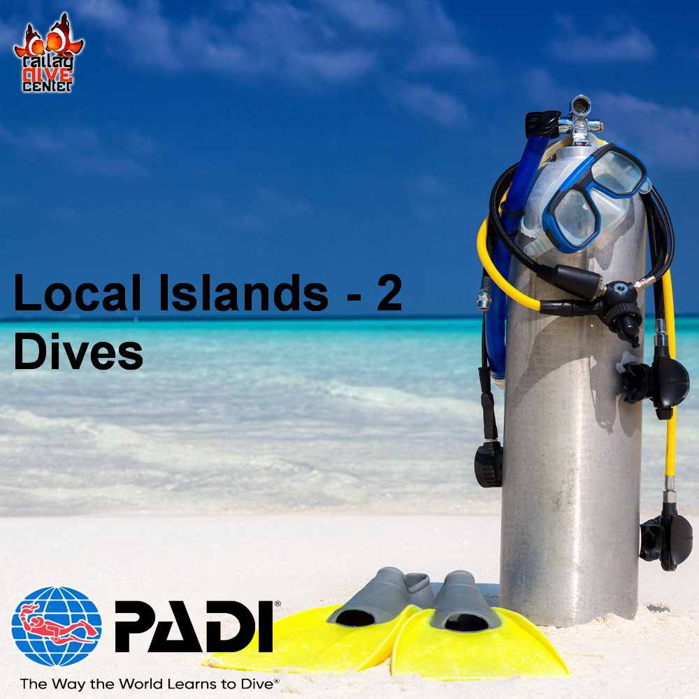 Railay Local Islands - 2 Dives