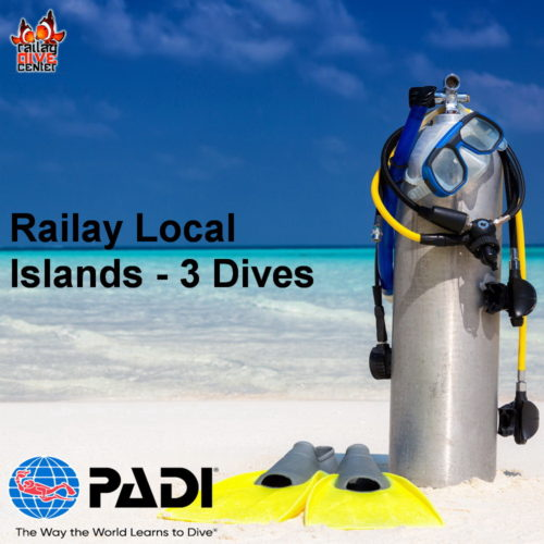 Railay Local Islands - 3 Dives